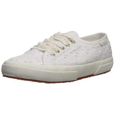 Sapato feminino Superga 2750 SANGALLOW, Branco, 6