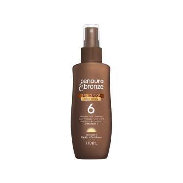 Bronzeador Cenoura  Bronze 22693-0 FPS 6 - 110ml Spray