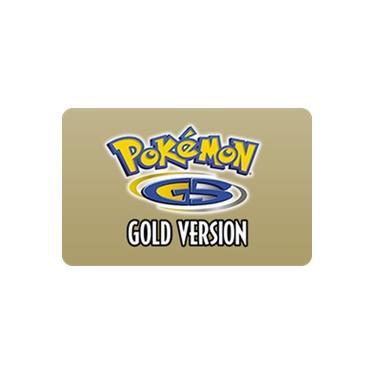 Gift Card Digital Pokémon Gold para Nintendo 3DS