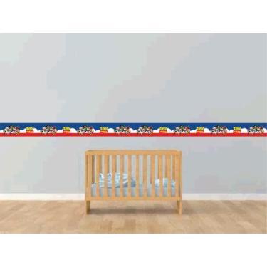 Imagem de Faixa Decorativa Adesivo Quarto Infantil - Tema Toy Story - Silk Plac