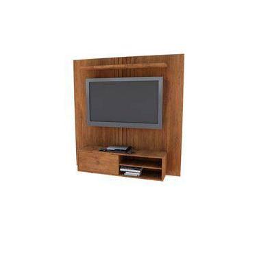 Painel para Tv Jb 5024 Luxo Caramelo Madeirado - Móveis Jb Bechara