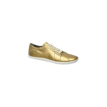 Sapatênis Feminino Marselha Bronze Tamanho De Calçado Adulto : 35