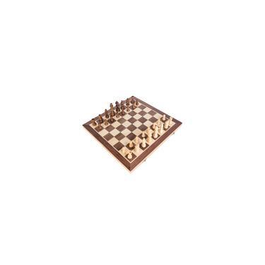 Xadrez De madeira Definir Dobrável tabuleiro de xadrez Magnético Pieces Madeira Conselho