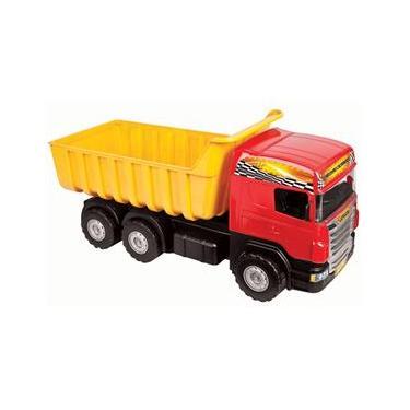 Imagem de Caminhão De Brinquedo Super Caçamba Grande Magic Toys