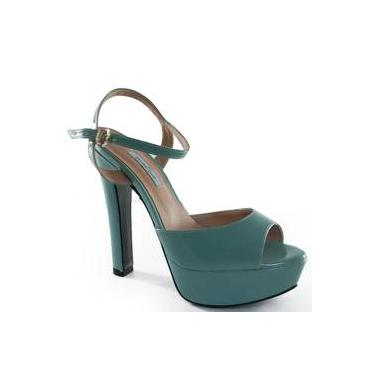 e5c0b5eeff6c1 Sandália R$ 79 a R$ 200 Salto Verniz Meia Pata | Moda e Acessórios ...