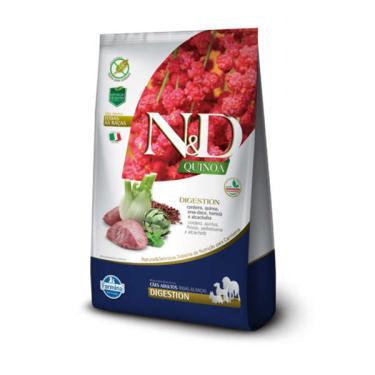 Ração Farmina N&D Quinoa Digestion Cordeiro para Cães Adultos de Todas as Raças - 800 g
