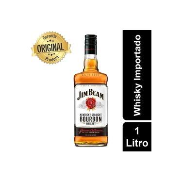 Whisky Importado Jim Beam White 1Litro - Wells