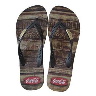 Chinelo Masculino Coca-Cola Western CC2680