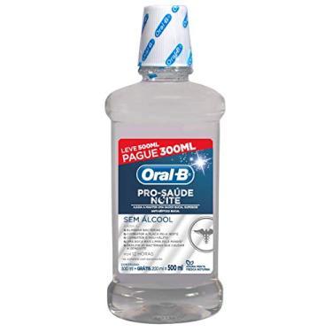 Antisséptico Oral-B Pro-Saúde Noite, 500 ml