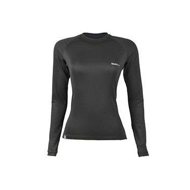 T-Shirt Thermo Skin Feminino - M - Preto - Curtlo