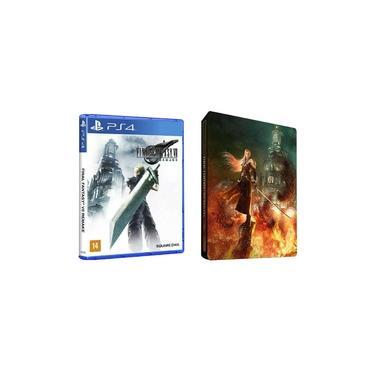 Final Fantasy Vii 7 Remake Ps4 Edição Steelbook