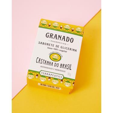 granado sabonete de glicerina - 90gr Feminino GRANADO CASTANHA U