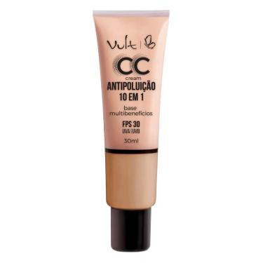 Base Vult CC Cream Antipoluição Cor MB03 30ml