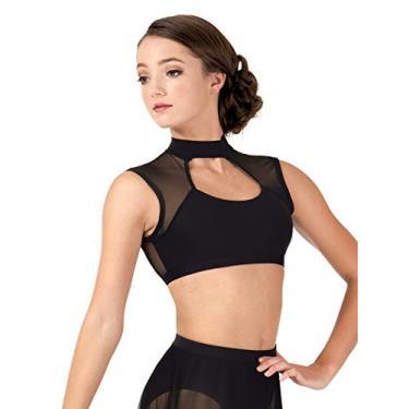 Imagem de Sutiã de dança aberto nas costas (BWP9028), Branco, G