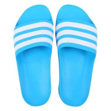 Imagem de Chinelo Infantil Slide Adidas Adilette Aqua