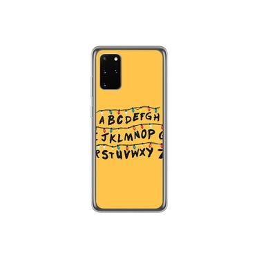 Capa para Galaxy S20 Ultra - Stranger Things | Alfabeto Luzes