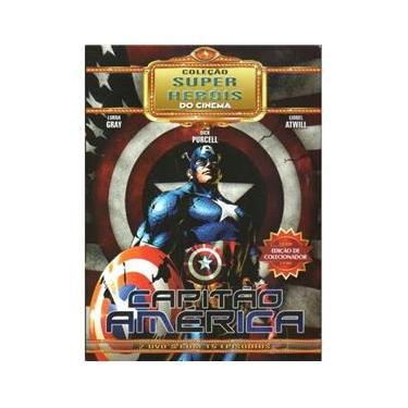 Imagem de DVD Duplo Coleção Super Heróis do Cinema Capitão América