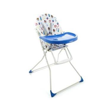 Cadeira para Refeição Cosco Banquet Marinheiro - até 23kg - Azul