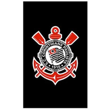 Toalha Social Buettner Veludo Estampado Corinthians 43be646db6740