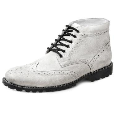 Bota Dress Boot Sandro Moscoloni USA Branco  masculino