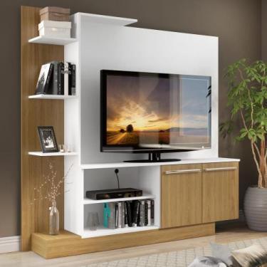Estante Home Theater para TV até 55 Pol. Denver Multimóveis Argila Ace