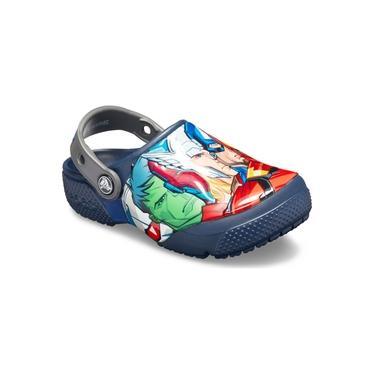 Crocs - 205505 - Calcado Crocsfl Marvel Multi Clog K Navy