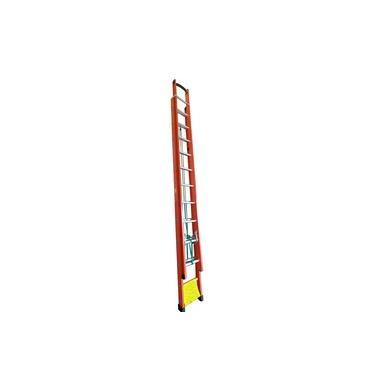 Escada Extensiva 29 Degraus tipo D e Fibra Vazada 5,10 x 9,00 Metros