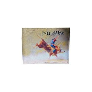 Carteira Couro Smith Brothers Bull Riding Sm02