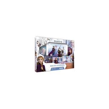 Imagem de Frozen 2 conjunto box de atividades elsa anna disney copag