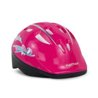Capacete Infantil Para Bicicleta - Nathor Rosa