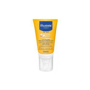 Mustela Bébé Protetor Solar Facial Infantil Fps50 40ml