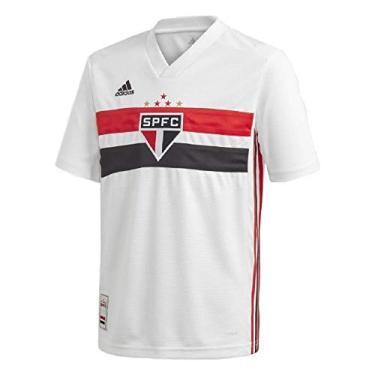 Camisa Adidas Fc São Paulo I Dz5634 Infantil