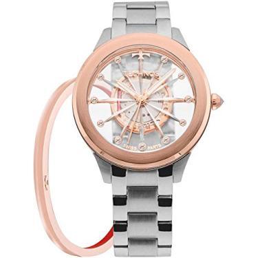 edba3b4b665 Relógio Feminino Technos Analógico Swiss Parts F03101AB K1W