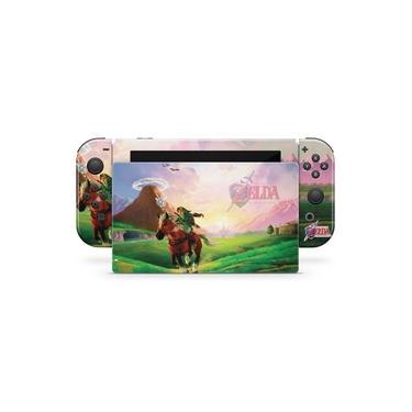 Skin Adesivo para Nintendo Switch - Zelda Ocarina Of Time