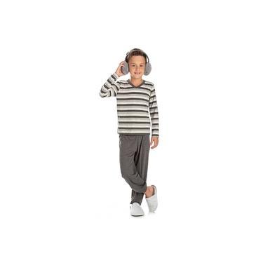 Pijama Infantil Menino Listrado Bela Notte-6