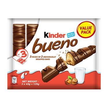 Chocolate Kinder Bueno c/3 - Ferrero