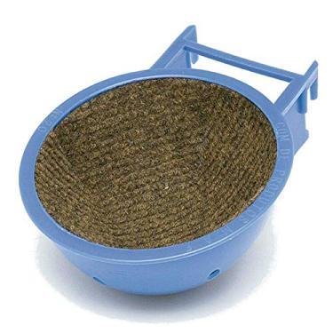 Porta Ninho Carpete Mr. Pet Pássaros Azul