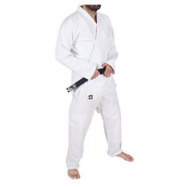 d2c2dc06956 Kimono Jiu Jitsu Bjj Adidas Challenge Branco (A) A4