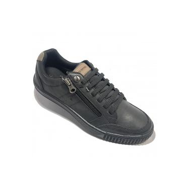 Sapatênis Ped Shoes Casual - Masculino - PRETO/CINZA Ped Shoes