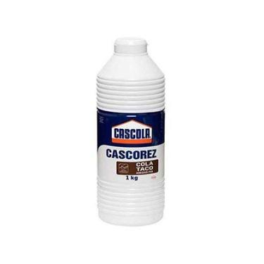 Imagem de Cola Adesiva Branca Cascorez Henkel para Taco 1Kg