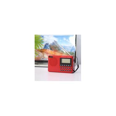 Alto-falantes sem fio de rádio multifuncional Rádio portátil fm / am / sw Rádio Music Player Digital Mini Rádio Gravador de som fm Cartão de inserção