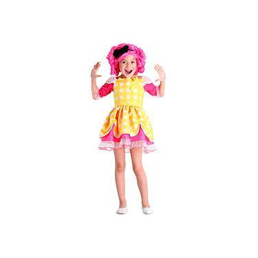 Imagem de Fantasia Infantil Lalaloopsy C. Sugar Cookie Luxo - Sulamericana