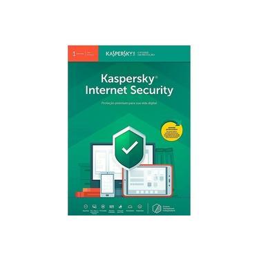 Kaspersky Internet Security 1 Dispositivo 1 ano Versão 2021