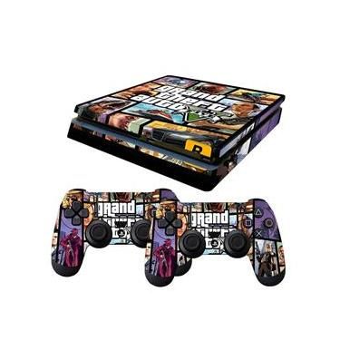 Skin PS4 Slim Grand Theft Auto 5
