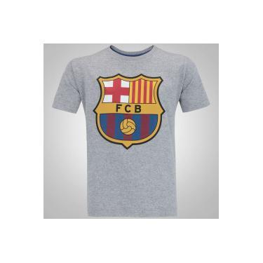 Camisas de Times de Futebol Casuais Barcelona Infantil  786cba52ded4a