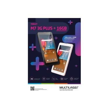 Tablet Multilaser M7 Plus 3g Nb304 Wi-fi, Bluetooth 16gb