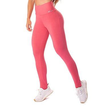 Legging Let'sgym Energetic Push Up Rosa Goiaba - G