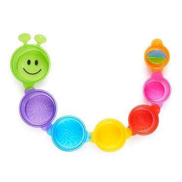 Imagem de Munchkin Lagarta Derramando e Esticando copos de brinquedo de banho