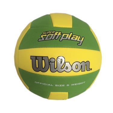 888b2a1035 Bola de Vôlei Super Soft Play Wilson - Verde Amarelo