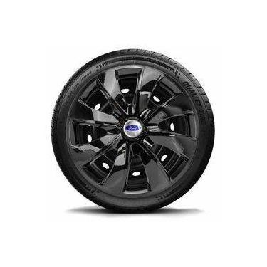 Calota Jogo Aro 13 Black Ford Ka Fiesta Focus Escort -lc202